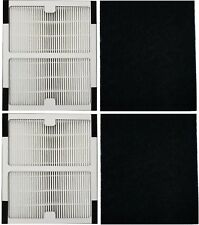 2 Replacement Hepa Air Purifier Filter for Idylis B IAFH100A IAF-H-100B + Carbon