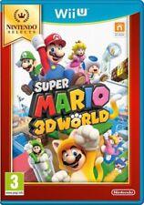 Jeu WII U SUPER MARIO 3D WORLD -Nintendo Selects