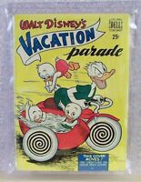 Walt Disney's VACATION PARADE, Vol. 1, #1, 7-1950, Carl Barks, Dell, Grade 5.8