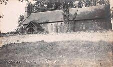 Shrops - HALFORD, St Thomas'  Church.  Real Photo