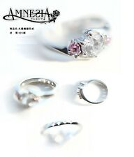 Japan Anime Amnesia Heroine S925 silver ring cosplay daily wear fine work gift