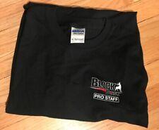 Block Black Pro Staff Long Sleeve Tee Shirt size Medium