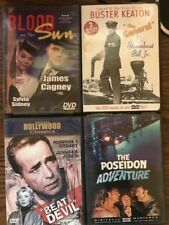 54 - Lot Of 4 Classic Movie Dvd's Blood On The Sun, Buster Keaton The General &