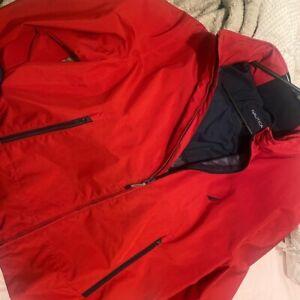 Red Nautica Jacket