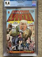 Savage Dragon #226 Trump Cover CGC