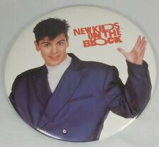 Vintage 1980's Nkotb New Kids On The Block Jordan Knight Button Pin
