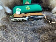 1981 vintage Puma 6393 Skinner Coltello con fodero Stag Maniglie & Menta Sacchetto & TAG