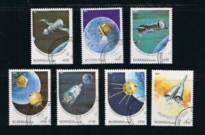 = Soyuz 6,7,8 Luna 1,2,3, Apollo 11, Space Complete Set of 7 q20