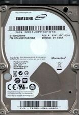 Samsung ST2000LM006 HN-M201RAD/SBZ  2TB F/W: 2BC10003 DGT Seagate