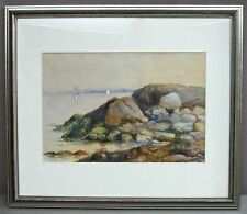 DOROTHY CANNON (1909-99)__Noted CA Artist__Watercolor__Signed__ExC__SHIPS FREE