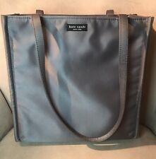 kate spade New York Gray Nylon Vintage Large Tote Bag Purse