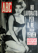 ABC N°30/ 28/LUG/1963* YLIA SUCHENEK* Da Sartre alla marijana* STEFANIA CAREDDU