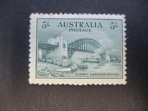 Pre decimal Stamps: 5/- Bridge Mint  - Great Item (n676)