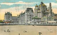 Postcard Hotel Dennis And Marlborough-Blenheim, Atlantic City, NJ Posted 1916