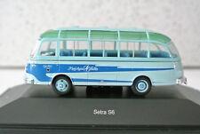 Schuco 452623200 HO Setra S6 Kraichgau Falke Tour Bus Missing One Headlight READ