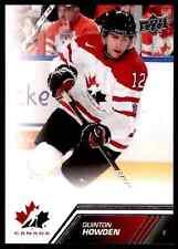 2013-14 Upper Deck Team Canada Quinton Howden #74