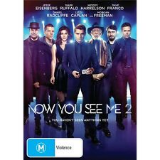 NOW YOU SEE ME 2-Mark Ruffalo, Woody Harrelson-Region 4-New AND Sealed