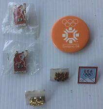 Olympics Games Sarajevo ,Italy Badge, Coca Cola  Pin / Button  1984-2006