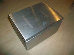 Hoffman Stainless Enclosure LHC201512SS   USED