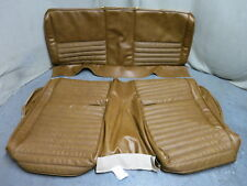 71 72 73 Mustang Mach 1 Rear Bench Seat Cover Upholstery Set Reproduction Ginger