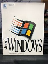 Microsoft Windows 3.1 Operating System Brand New Sealed Retail