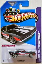 HOT WHEELS 2013 SUPER TREASURE HUNT '67 CAMARO DARK GREY WITHOUT LOGO ON BASE W+