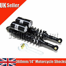 1Pair RFY 360mm 14'' Motorcycle Rear Air Shock Absorbers for Yamaha Suzuki Honda