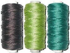STRONG BONDED NYLON THREAD, AMANN OXLEY THREADS, 10'S, 50MTR SPOOL, CHOOSE COLS
