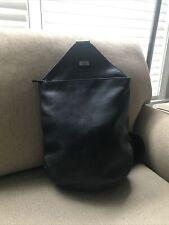 The Sak Black Leather Sling Backpac