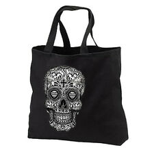 Sugar Skull New Cotton Tote Bag Gifts Books Shop Day of the Dead