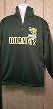 Emmaus pennsylvania Hornets Sweatshirt half zip mens large green