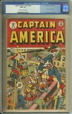 CAPTAIN AMERICA COMICS #58 CGC 9.2 CR/OW PAGES // TIMELY COMICS 1946 HUMAN TORCH