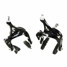 TEKTRO R340 Road Bike Dual Pivot Caliper Brake Set (Front & Rear) , Black