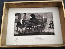 More details for n.feli - 1960s etching ( london ) 25/30 signed with original frames