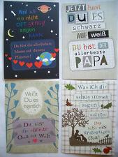 Postkarte*Trenn-mich-raus&nimm-mich-mit*Muttertag*liebste Mama*Papa*Oma*Opa10x15