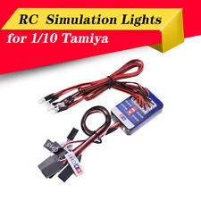 RC Lighting System LED Steering Brake Simulation Lights for 1/10 Tamiya RC Car