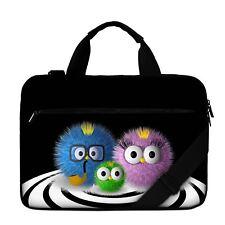 "Luxburg® 13"" Luxury Design Laptop Canvas Bag with Shoulder Strap & Handle #CQ"