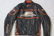 Harley Davidson Men's Screamin Eagle Leather Jacket M Raceway 98226-06VM RARE