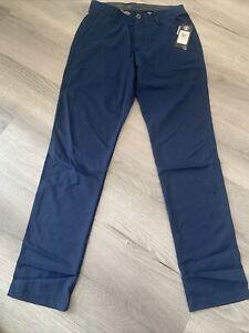 "1309546-408 Under Armour Mens Golf Trousers Size 32"" Waist 34"" Leg"