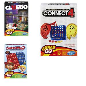HASBRO Original - Connect 4 / Cluedo / Guess Who? - GRAB & GO  Travel Board Game