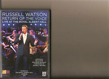 RUSSELL WATSON RETURN OF THE VOICE LIVE FROM ROYAL ALBERT HALL DVD MUSIC