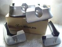 Lexus GS250 GS350 GS450h Side Mud Flaps Guard NEW Genuine OEM Parts 2012-2015