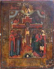 Vecchia icona originale Russian Icon Icona russa in legno icons 18 - 19 JH.