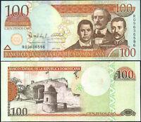 DOMINICAN REPUBLIC 100 PESOS ORO 2006 P 177 UNC