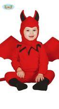 Costume Diavolo Halloween Carnevale GUIRCA Vestito Diavoletto bimbo Neonato 1-2 anni