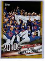 Chicago Cubs 2020 Topps Decades Best 5x7 Gold #DB-83 /10 Cubs
