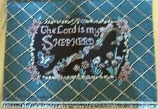"1 Pretty ""The Lord is my Shepherd Tapestry"" Pillow Top Home Decor Fabric Panel"