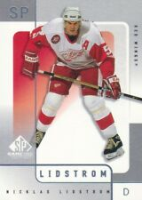 2000-01 SP Game Used Hockey #24 Nicklas Lidstrom Detroit Red Wings