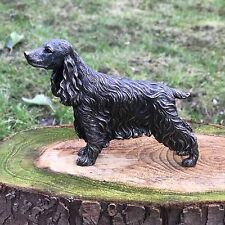 Cocker Spaniel Cold Cast Bronze Figurine Sculpture Ornament Dog Lovers Gift