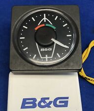 B&G H1000 Analog Wind Angle Instrument Display W/ Cover & Fasnet Cable